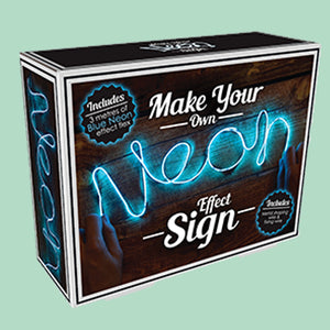 MYO (Make Your Own) Neon Effect String Light - Blue