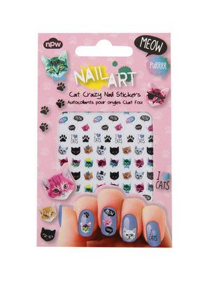 Nail Art Stickers - Cat Crazy