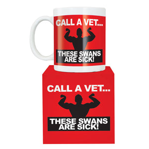 These Swans Are Sick