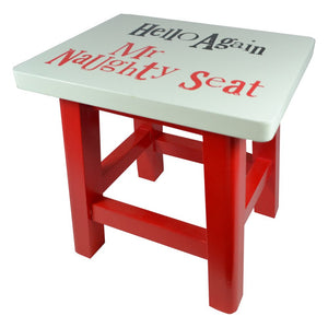 """Hello Again Mr Naughty Seat"" Kids Seat"