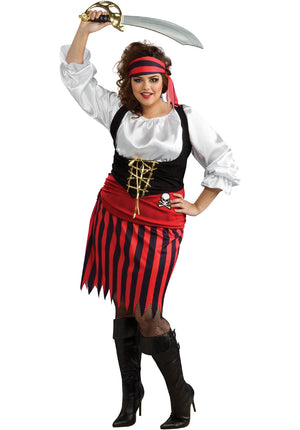 Pirate Girl Costume - (Adult)