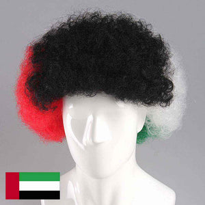 United Arab Emirates Wig
