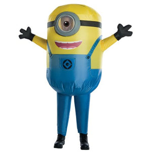 Inflatable Minion Stewart Costume - (Adult)