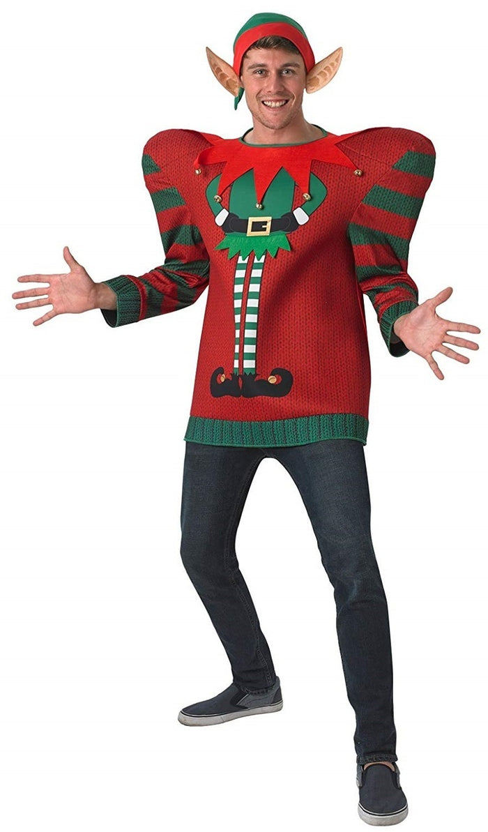 Elf Christmas Jumper - Oversized