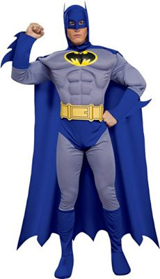 Deluxe Batman Costume - (Adult)