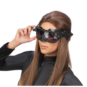 Deluxe Catwoman Goggles/Mask - (Adult)