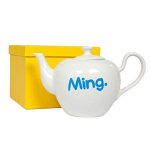 """Ming"" & ""As Seen On Antiques Roadshow"" Waldo Pancake Teapot"