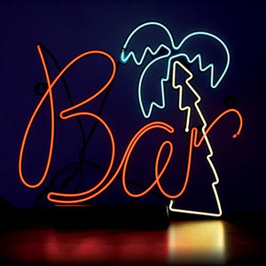 Bar Sign - Neon Effect