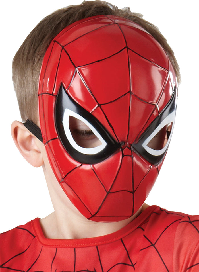 Spider-Man (Moulded) 1/2 Mask - (Child)