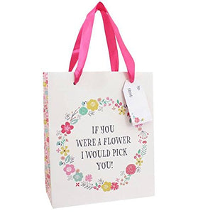 Mother's Day Floral Gift Bag