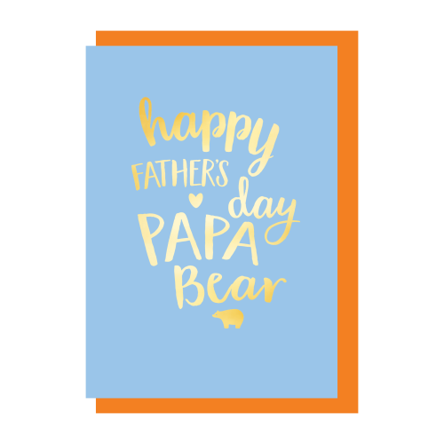 Papa Bear - Father's Day Card