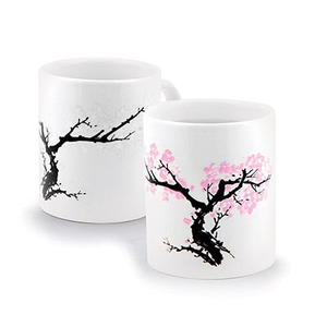 Heat Changing Morph Mug - Cherry Blossom