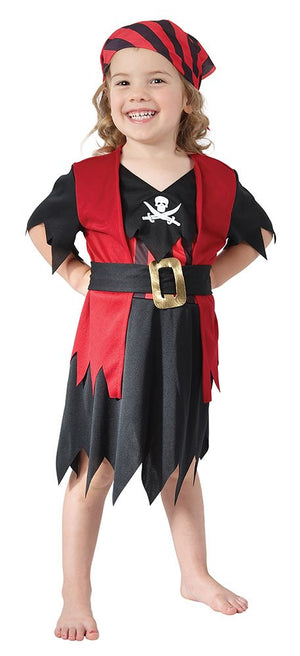 Pirate Girl Costume - (Toddler)