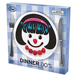 Dinner Do's Girl Plate Set