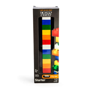LED Light Stax Starter Set 12 Bricks