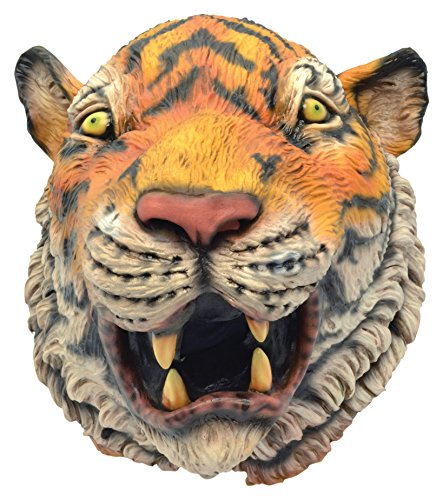 Tiger Rubber Mask