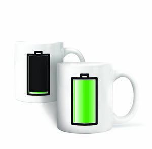 Heat Changing Morph Mug - Battery
