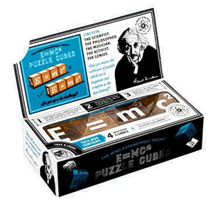 The Einstein Collection: E=mc2 Puzzle Cubes