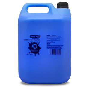 5 Litre UV Neon Body Splash Paint - Blue