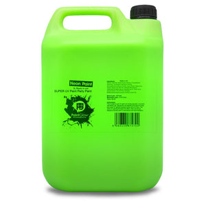 5 Litre UV Neon Body Splash Paint - Green