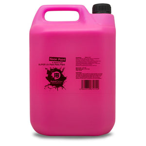 5 Litre UV Neon Body Splash Paint - Pink