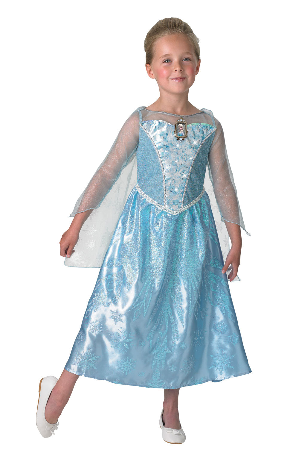 Musical Light Up Elsa Costume
