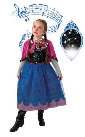 Musical Light Up Anna Costume
