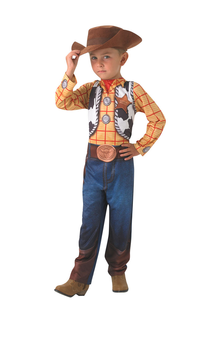 Woody Jumpsuit Costume (With Hat)