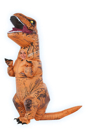 Inflatable Tyrannosaurus Rex Costume - (Child)