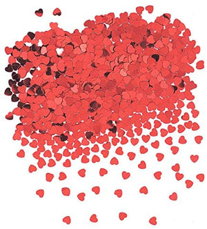 Red Heart Party Confetti