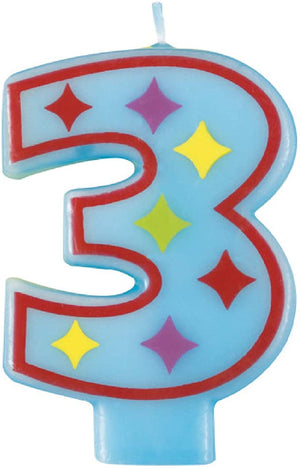 Decorative Number Birthday Candles