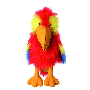 Scarlet Macaw Puppet - Large Birds