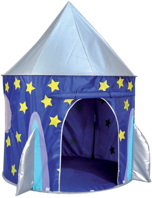 Kids Kingdom Pop-Up Play Tent - Space Rocket Ship