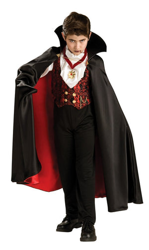 Deluxe Halloween Transylvanian Vampire Costume - (Child)