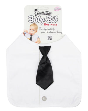 Gentleman Baby Bib - Business Tie