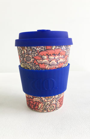 Ecoffee Cup + William Morris Wandle - 12oz