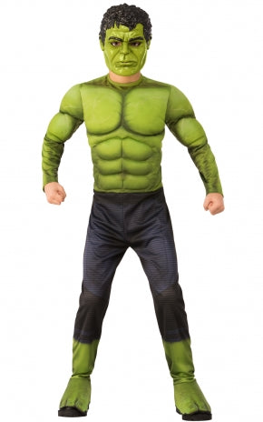 Deluxe Muscle Incredible Hulk Costume