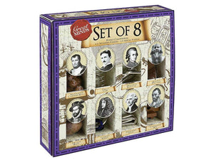 Great Minds Wooden and Metal Puzzles Set of 8