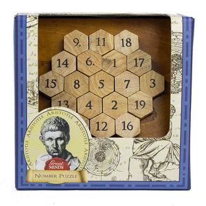 Great Minds Aristotle Number Puzzle