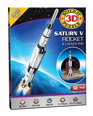 3D Puzzle Saturn V Rocket 68pcs