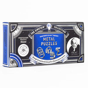 The Einstein Collection: E=mc² Metal Puzzles