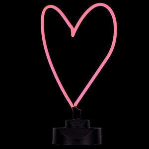 Large Love Heart Neon Light
