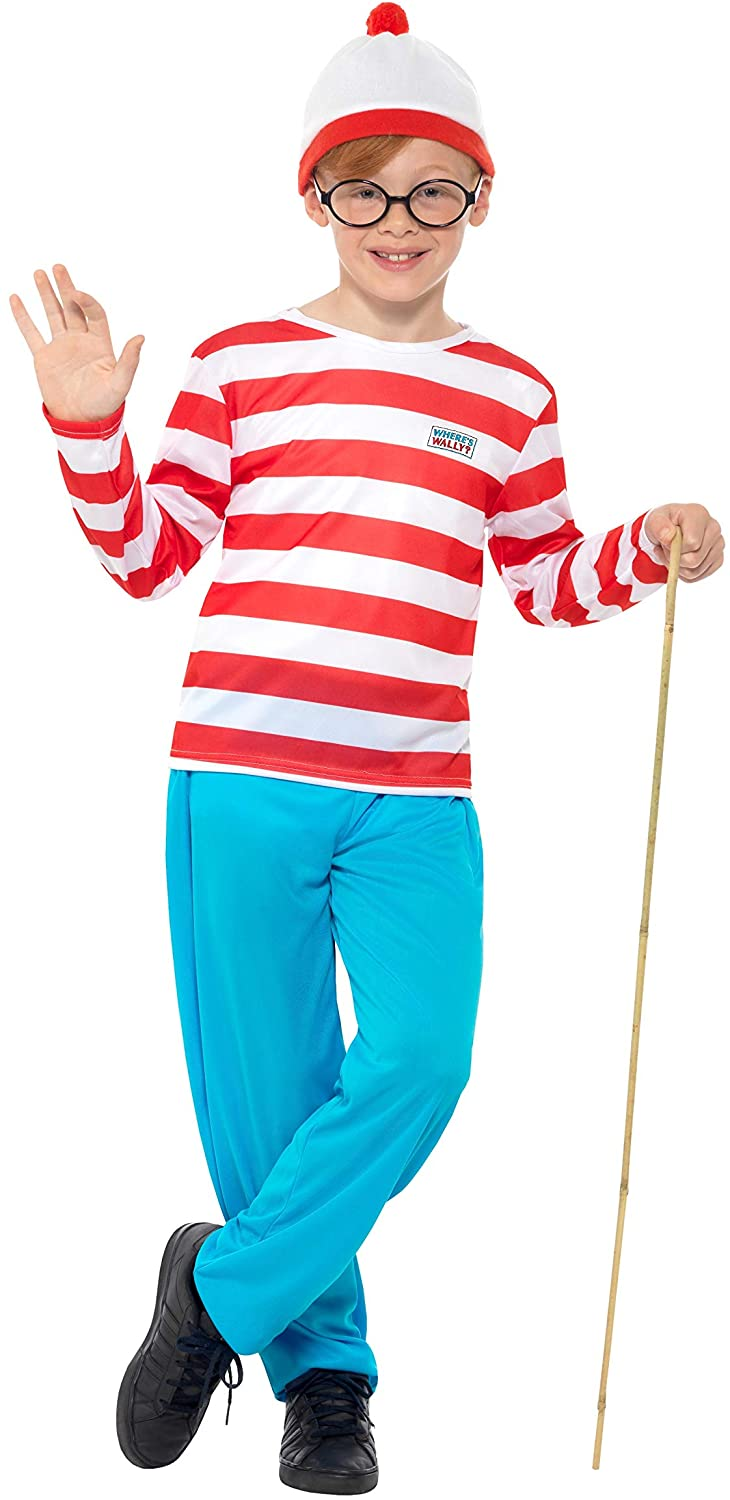 Where's Wally (Waldo) Costume