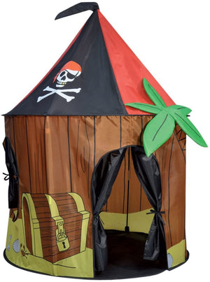 Kids Kingdom Pop-Up Play Tent - Pirate Cabin