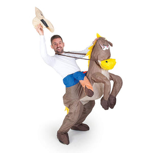 Inflatable Cowboy Costume - Adult