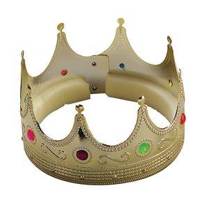 King's Crown Gold with Jewels