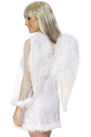 Angel Wings, Large - White