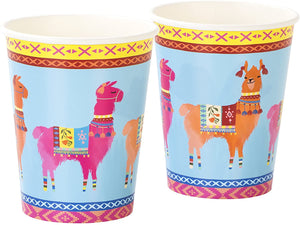 Bohemian Decor Llama Party Cups