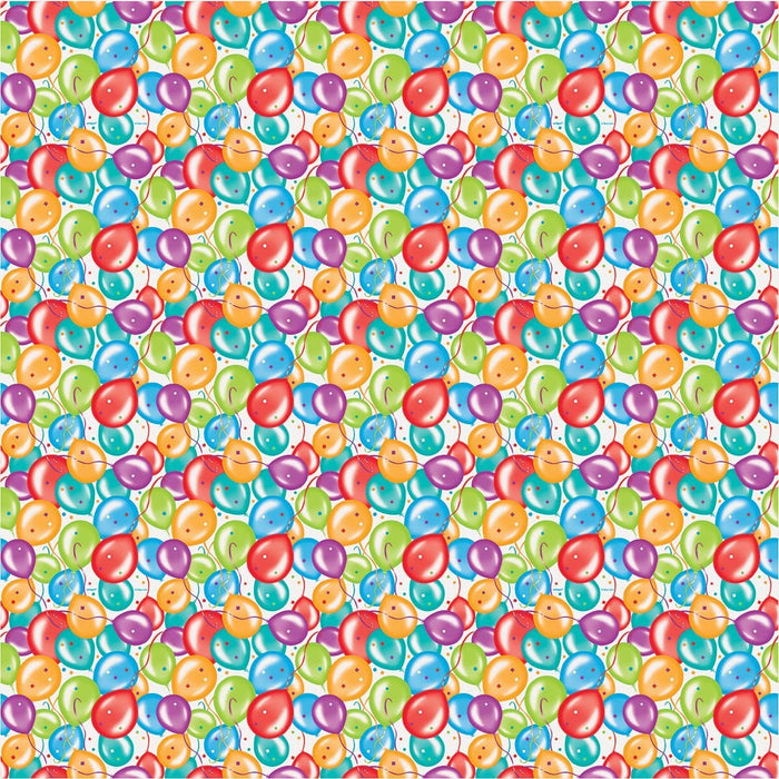 Gift Wrapping Paper - Birthday Balloons