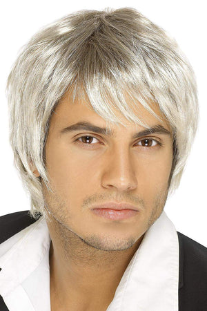 Boy Band Wig - Blonde/Brown